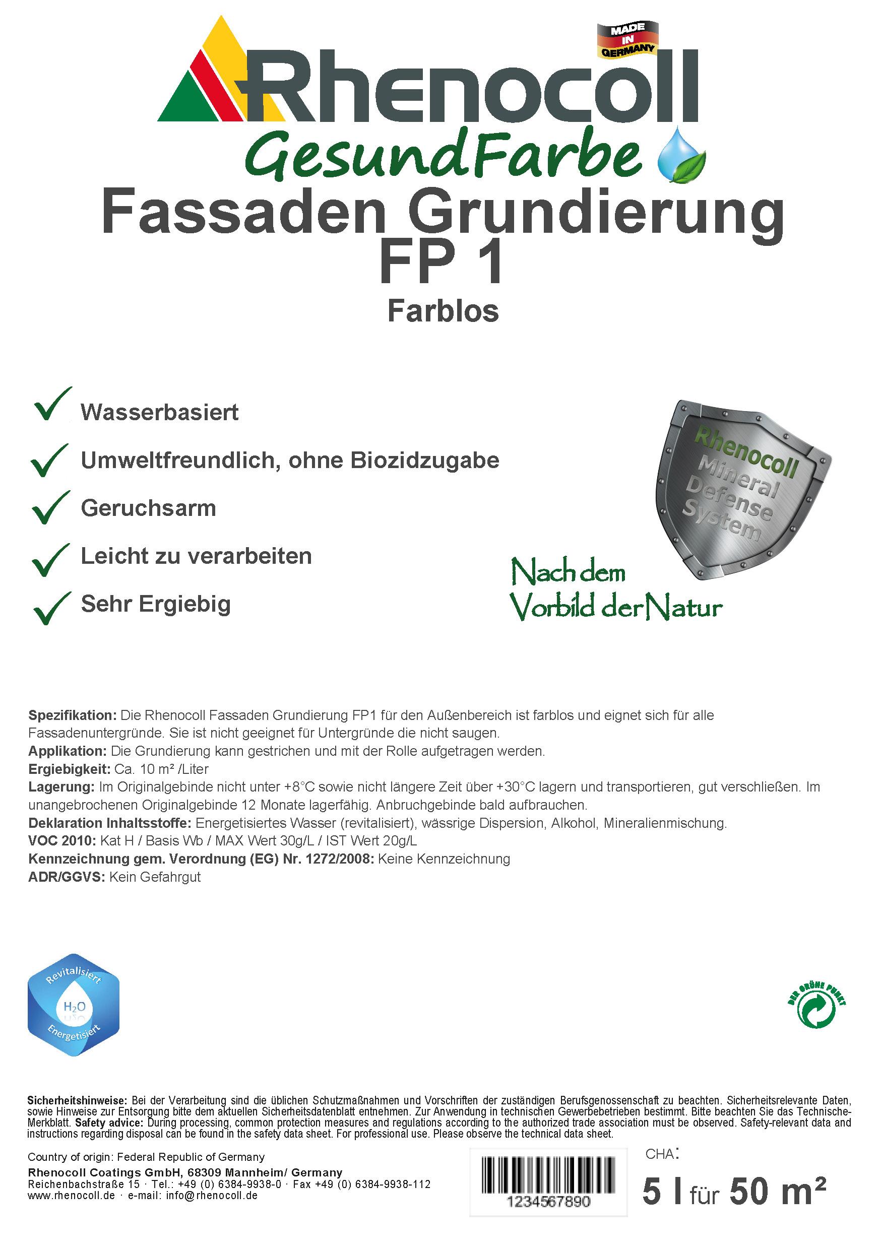 Fassaden Grundierung FP1